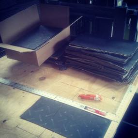 """Damplifier Pro ™ MADE IN USA B-Stock Shop Pack  54 Sheets 12"""" X  20"""" = 90 sq. ft."""