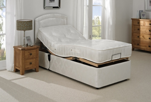 The Aztec Adjustable Bed Lifted