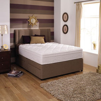 The Loren Williams Mem-Lux divan Set £
