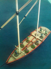28mm Egyptian Dhow
