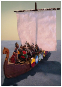 28mm Viking Ship