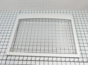 LG Life's Good Refrigerator 3551JJ1067A Shelf Assembly White Frame w/Clear