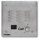 Viking Electronics Handsfree Speakerphone Stainless Steel E-35-IP