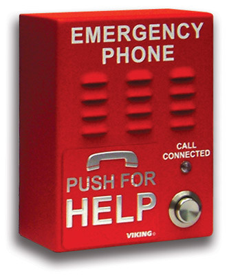 Viking Electronics VoIP Handsfree Emergency Phone E-1600-IP