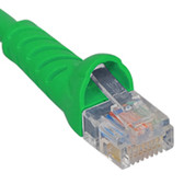 ICC PATCH CORD, CAT 5e, MOLDED BOOT, 10' GN ICPCSJ10GN