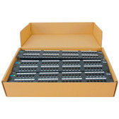 ICC PATCH PANEL, CAT 5E, 48-PORT, 2RMS, 6 PK ICMPP485EV