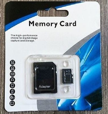 MISC 32GB micro SD with adapter 32GB-MICROSD