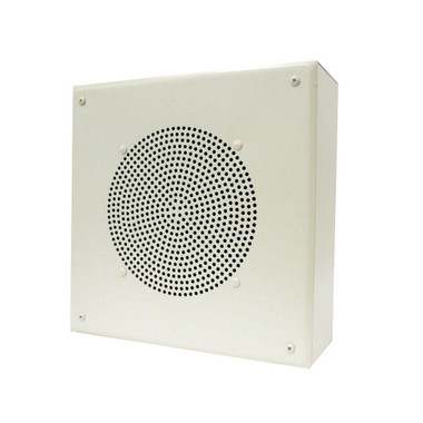 VALCOM 8[dquote] Amplified Ceiling Spkr Square Grille V-1920C