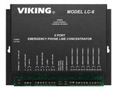 Viking Electronics 6 Port Line Concentrator for Emergency LC-6