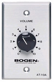 Bogen 10 Watt Attenuator Single Gang