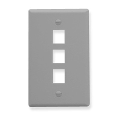 IC107F03GY - 3Port Face - Gray