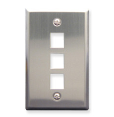 IC107SF3SS - 3Port Face Stainless Steel