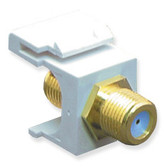 Module, F-Type, Gold Plated, 3GHZ, White