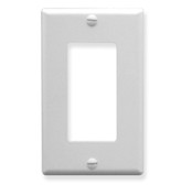 Decorex Faceplate 1 Gang - White