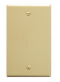 Flush Wall Plate Blank IVORY