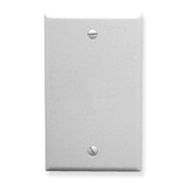 Flush Wall Plate Blank WHITE