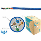 CAT5e CMR PVC Cable BLUE