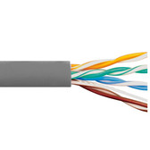 CAT5e CMR PVC CABLE GRAY