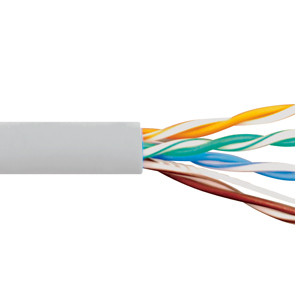 CAT5e CMR PVC CABLE WHITE