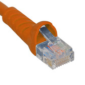 PATCH CORD, CAT 5e, MOLDED BOOT, 7' OR