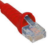 PATCH CORD, CAT 5e, MOLDED BOOT, 14' RD