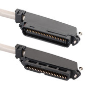 25-PAIR CABLE ASSEMBLY, F-M, 90°, 25'