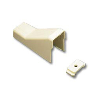 CEILING ENTRY AND CLIP 3/4 IVORY 10PK