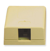 IC107SB1IV  SURFACE BOX 1PT Ivory