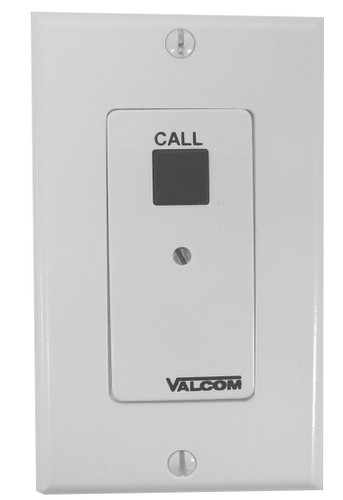 Call in switch w/volume control, white