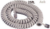 Cablesys GCHA444025-FAR / 25' ASH Handset Cord 2500AS