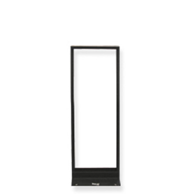 ICC DISTRIBUTION RACK BLACK, 4ft, 24 RMS ICCMSR1948