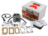 32/36 DGEV  Weber Carb kit Toyota Truck /4Runner 20R 22R Manual Choke - #K746M