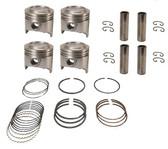 Piston Set w/ Rings - Toyota 22R Engines - 13101-35020