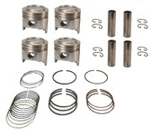 Toyota 22R NPR Piston Set w/ Rings - 1981-1984