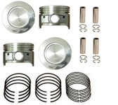 Toyota 4Runner, Pickup 2.4L 22R, 22RE (1985-1995) NPR Piston Set with Rings 10-239