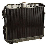 Toyota Radiator- Toyota 2.4L 22R & 22RE 4Runner & Pickup Truck All Metal Brass and Copper 2 Core Radiator (1984-1995) 16400-35360