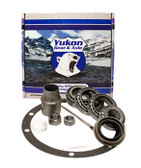 Yukon Bearing installation kits are perfect for shops & builders who have shims on the shelf and are looking to save cost over a Master Overhaul kit.    This kit uses high quality bearings and races along with all high quality small parts. kit includes carrier bearings and races, pinion bearings and races, pinion seal, crush sleeve (if applicable), marking compound and brush. Yukon does extensive research for each application to make sure your kit will arrive with all the correct parts you need to install your pinion gear..  This kit fits applications with a 27 spline pinion.