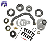 Yukon Master Overhaul kits give you all the high quality parts you need to start & finish every differential job. Yukon offers more tailor-made kits than any other manufacturer in the industry to meet your specific installation needs.   This kit uses premium bearings and races along with high quality seals and small parts. Included in this kit are carrier bearings and races, pinion bearings and races, pinion seal, complete shim kit, pinion nut, crush sleeve (if applicable), Thread locking compound, marking compound with brush, and gasket. Yukon's Master Overhaul kits are the most comprehensive and complete kits on the market. They do extensive research to ensure that every kit is specially tailored to your application.
