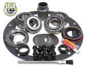 USA Standard Master Overhaul kits let you finish your install with confidence. This kit uses Koyo bearings and races. Included are carrier bearings and races, pinion bearings and races, pinion seal, pinion shim kit, ring gear bolts, pinion nut, crush sleeve (if applicable), oil baffles and slingers (if applicable), threading locking compound, marking compound with brush and gasket. .