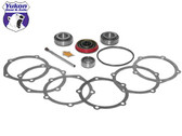 Yukon Pinion installation kits are a terrific solution for gear installation on lower mileage vehicles where the carrier bearings & races can be reused.    This kit uses  high quality bearings and races along with a high quality pinion seal and small parts. Included in this kit are the pinion bearings and races, pilot bearing (if applicable), crush sleeve (if applicable), complete pinion shim kit, pinion nut, thread locker, and marking compound with brush. Yukon does extensive research for each application to make sure your kit will arrive with all the correct parts you need to install your pinion gear.