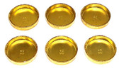 Toyota 20R, 22R, 22RE 40mm Brass Freeze Plug Set 1979-95' - FPS900
