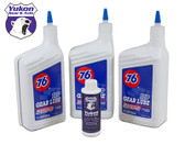 3 Qt. Penzoil 80W90 conventional gear Oil.