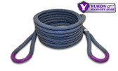 "Yukon kinetic recovery rope, 7/8"" YRGRR-01  *7/8"" diameter  *30 feet long  *Kinetic design increase pulling capacity by up to 30%  *Rated to 28,000 lbs."