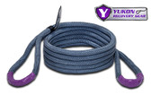 "*3/4"" diameter  *20 feet long  *Kinetic design increase pulling capacity by up to 30%  *Rated to 19,000 lbs. Yukon kinetic recovery rope, 3/4"" YRGRR-02"