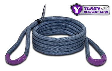 """*3/4"""" diameter  *20 feet long  *Kinetic design increase pulling capacity by up to 30%  *Rated to 19,000 lbs. Yukon kinetic recovery rope, 3/4"""" YRGRR-02"""