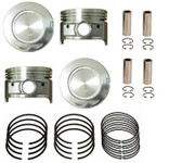Toyota 22R 22RE 060 Oversize Piston Set w/Rings-SP526D