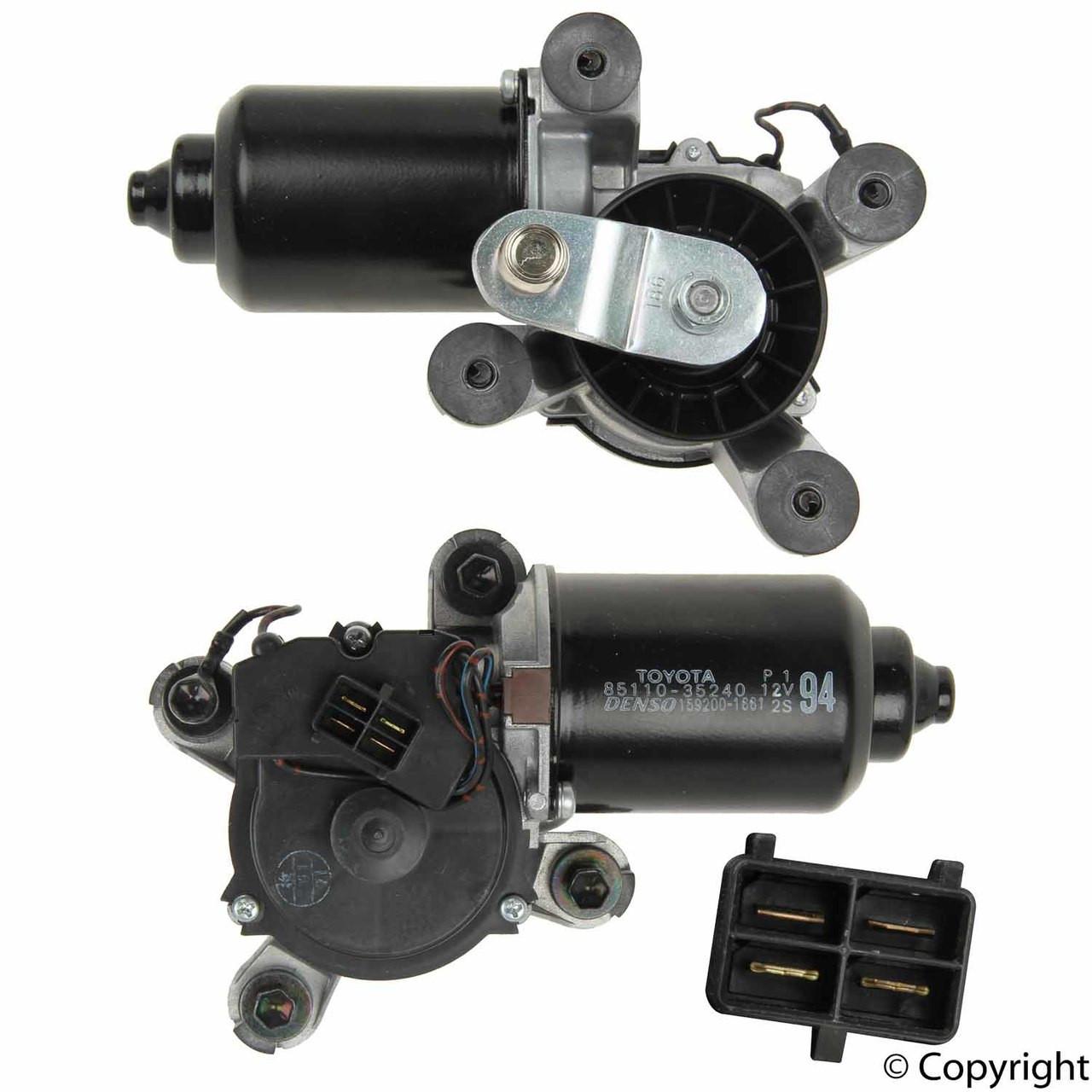 Toyota 4runner 95 02 Oem Windshield Wiper Motor Assy