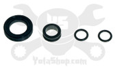 Toyota fuel injector seal kit 3.4L 5VZFE, 3.0L 1MZ-FE, 3.0L 1JZ-GE, 2.2L 5SFE, 4.3L 3UZ-FE engines