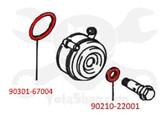 Toyota 3.4L/5VZ-FE Oil Cooler Gasket Kit  KIT-1036B