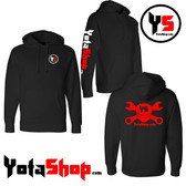 YotaShop Hooded Pull Over Sweatshirt
